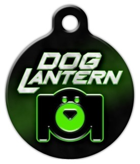 Dog Lantern Pet ID Tag