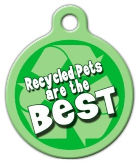 Recycled Pet Name Tag