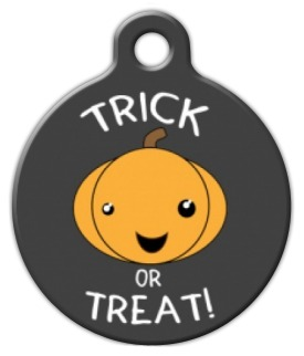 Trick or Treat ID Tag