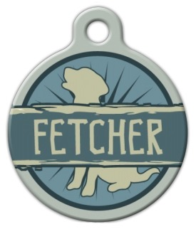 Fetcher Dog Tag for Dogs