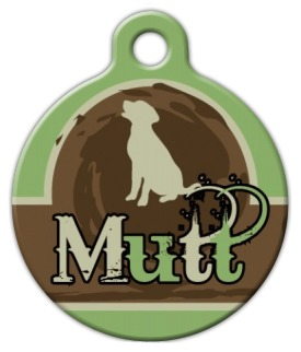 Mutt Tail Custom Dog Tag