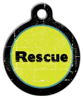Rescue Pet ID Tag