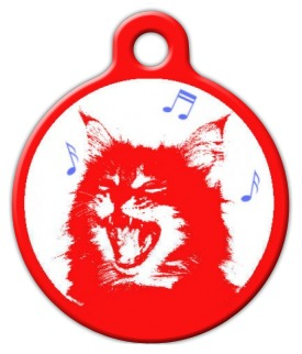Meow Mix Cat ID Tag