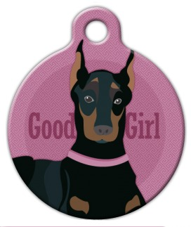 Doberman Girl