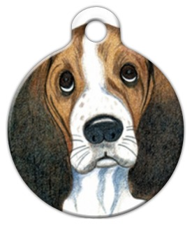Sad Eyes Dog Tag