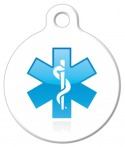 image: Caduceus Medical ID Dog Tag