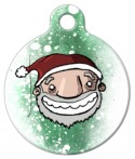 Image: Santa Claus Custom Pet Tag