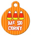 Me So Corny Dog ID Tag