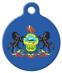 image: Pennsylvania Flag Pet Dog Tag