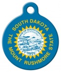 image: South Dakota Custom Pet Tag