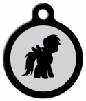 image: Little Pony Custom Dog Tag