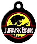 image: Jurassic Bark Custom Dog ID Tag