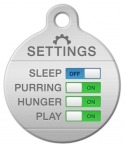 image: Feline Interface Settings Name Tag