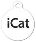 image: iCat Pet Identity Tag