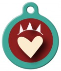 image: Dog Luv Pet ID Tag