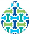image: Cool Bones Dog ID Tag