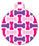 image: Pretty Bones Dog ID Tag