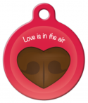 image: Love is in the Air Dog Tag