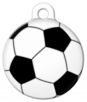 image: Soccer Ball Pet ID Tag
