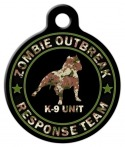 image: Zombie Response K9 Unit Camo Pet ID