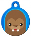image: Cute Walrus Dog or Cat Name Tag