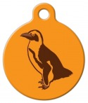 image: Penguin Print Custom Pet ID Tag