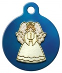 image: Angel Ornament ID Tag for Dogs or Cats
