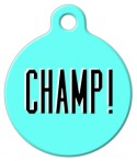 image: CHAMP! Pet Name Tag