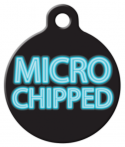 image: Micro Chipped Dog Tag for Dogs