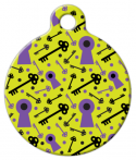 image: Lock and Key Pet ID Tag