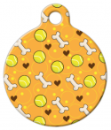 image: Ball and Bone Custom Dog Tag