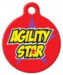 image: Agility Star Dog Tag for Dogs