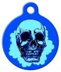 image: Blue Cheer Skull Pet ID Tag