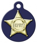 image: Deputy Dog Tag for Dogs