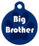 image: Big Brother Dog Identity Tag