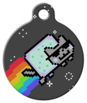 image: Cool Jazz Nyan Cat ID Tag