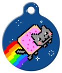 image: The Original Nyan Cat ID Tag