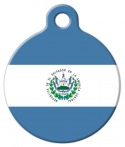image: Flag of El Salvador Pet ID Tag