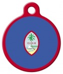 image: Flag of Guam Dog or Cat ID Tag