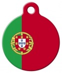 image: Portugal National Flag Dog or Cat ID