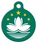 image: Regional Flag of Macau Dog or Cat ID Tag