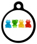 Crazy Frogs Pet ID Tag