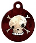 Skull and Crossbones Tag for Dogs