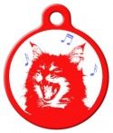 a musical kitten tag
