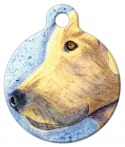 Yellow Labrador Pet Tag