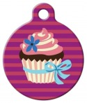 image: Cupcake Pet ID Tag