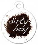 image: Dirty Boy Dog ID Tag