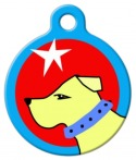 go get it designer pet id tag