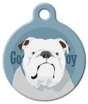 image: Good Boy English Bulldog ID Tag