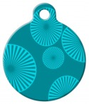 Pinwheels Pet Tag